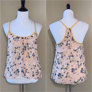 3/$12 Lush Floral Dressy Tank Size XS